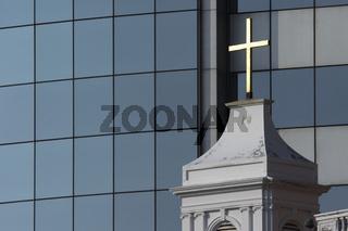Cross of church