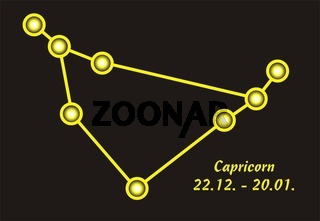 Sign of the zodiac capricorn