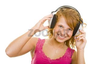 Lachen beim Musikhören