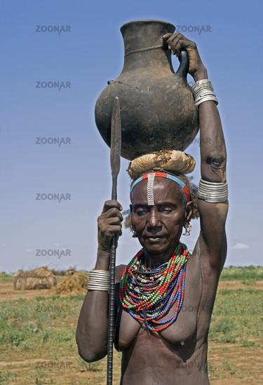 Galeb woman, Ethiopia
