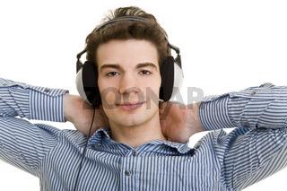 Lässig Musik hören