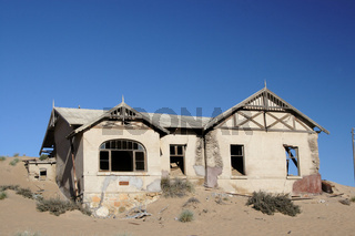 Ruine in der Wüste