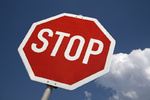 Stopschild/ Stop sign