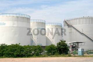 Mineraloel Raffinerie