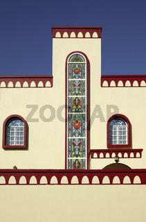 Modernen Wohnhauses im arabischen Stil, Sur, Oman