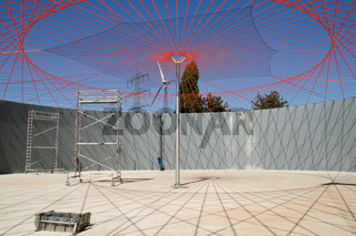 Biogasanlage Baustelle Fermenter
