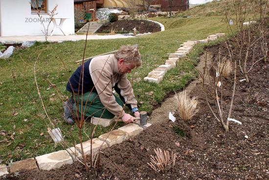beeteinfassungen stein – proxyagent, Garten und bauen
