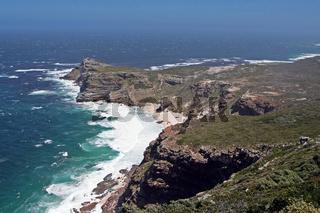 Blick aufs Kap der guten Hoffnung, Südafrika