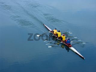 Ruderer, coxswainless four oars