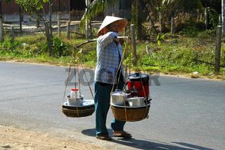 Mobiler Imbissstand, Mui Ne, Vietnam