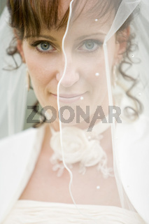 Verschleierte Braut