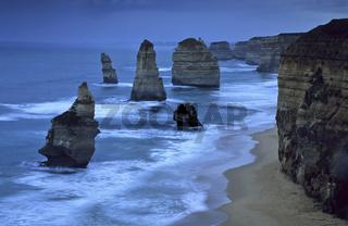 the twelve apostles, sehenswuerdigkeit, sight, kueste, coast, port champbell nationalpark, australien, australia