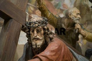 Sacro Monte di Varese, Jesus fällt, Jesus falls