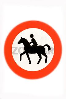 Reiten verboten | ride forbidden