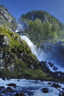 latefoss, oddadalen, hordaland, norway, norwegen, nordeuropa, north europe, europa,