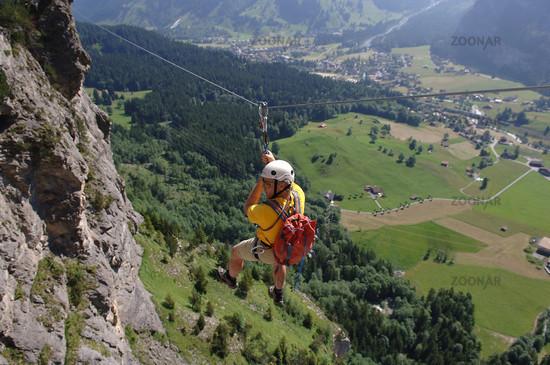 Klettersteig Allmenalp : Foto klettersteig allmenalp bild