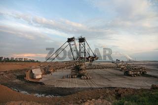 Tagebau in Deutschland