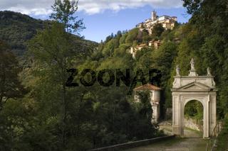 Sacro Monte di Varese, Landschaft, Wallfahrt