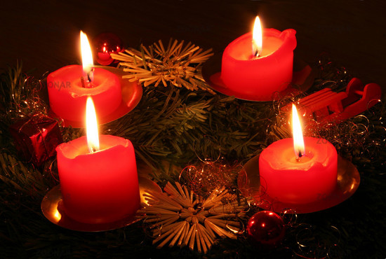 Adventskranz, Advent wreath