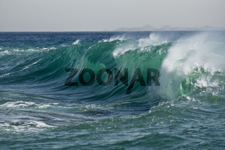 Brechende Welle breaking wave