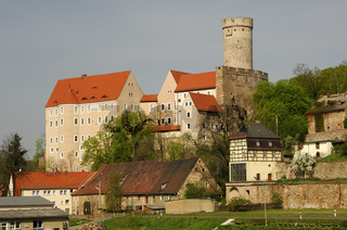 Burg Gnandstein mit Bergfried