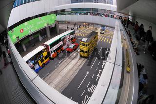 Srassenszene, Hongkong