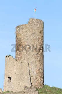 Turm der Löwenburg Monreal