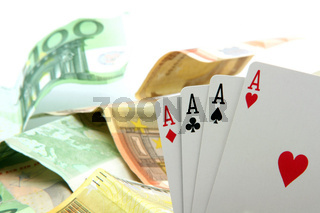 money and aces