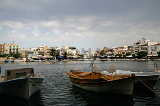 Voulismeni See auf Kreta
