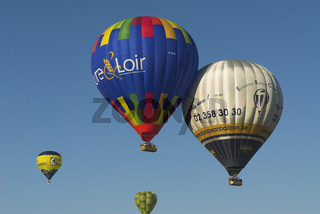 Ballonfahrer hot air balloon, heissluftballon, balloon flight, ballonfahrt, metz, lothringen, moselle, france, frankreich, europe, europa, festival, veranstaltung,