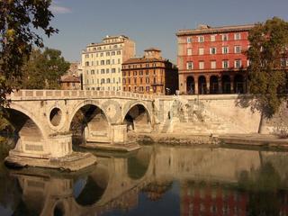 Ein Herbsttag am Tiber