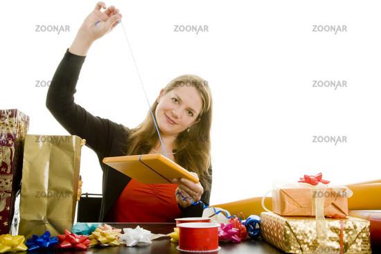 Geschenkband zeigen