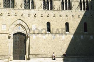 Gate to Salimbeni Palace, Siena