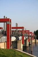 Water barrier | Sperrwerk