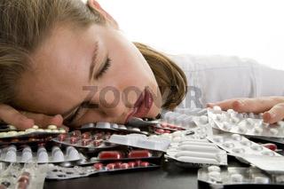 Schlafen auf Pillen