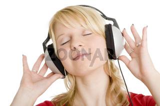Der Musik hingeben