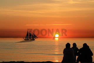 sommerabend - sundown
