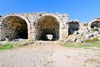 Tonnengewoelbe Stadium Roman Perge
