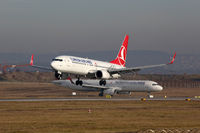 Turkish Airlines Flugzeuge Flughafen Stuttgart