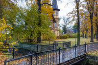 Quedlinburg im Herbst Stadtansichten altes Wasserwerk