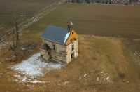 Chapel from the air