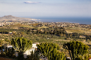Agrigent in Sizilien, Italien, Agrigento on Sicily, Italy