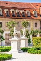 Bratislava castle courtyard
