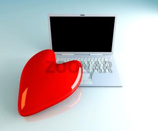 Laptop in Love