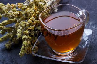 Mountain herbal tea