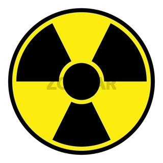 Radiation Warning Sign