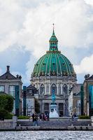 Frederikskirche in der Stadt Kopenhagen, Dänemark