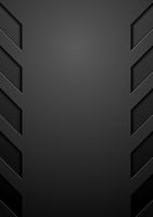 Black abstract concept technology background