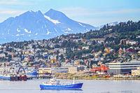 The City Of Tromso Norway