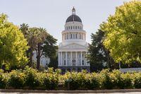California State Capitol building in Sacramento